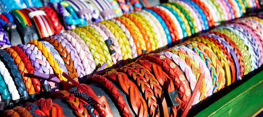Les caractéristiques du bracelet tissu